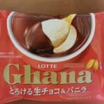 ガーナ とろける生チョコ&バニラ【ロッテ】