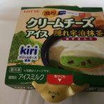 濃厚クリームチーズアイス 隠れ宇治抹茶【ロッテ】