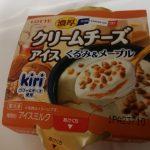 濃厚クリームチーズアイス くるみ&メープル【ロッテ】