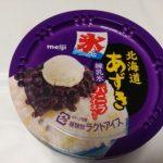 北海道あずき 練乳氷【明治】