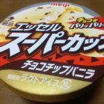 エッセルスーパーカップの超バニラが重いって思ったときにはチョコチップバニラが美味しい