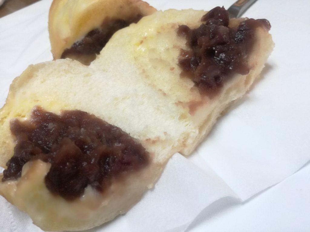 十勝産小豆のつぶあんコッペパン つぶあん&マーガリン