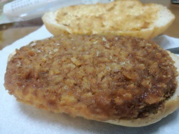 こだわりソースのキャベツメンチカツパン【ヤマザキ】
