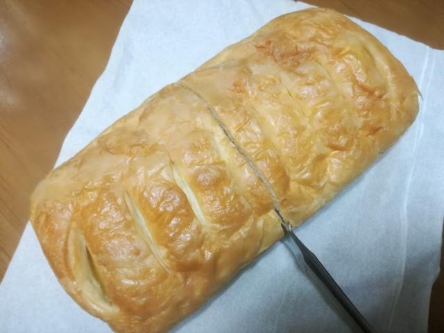 大きなスイートポテトデニッシュ【第一パン】
